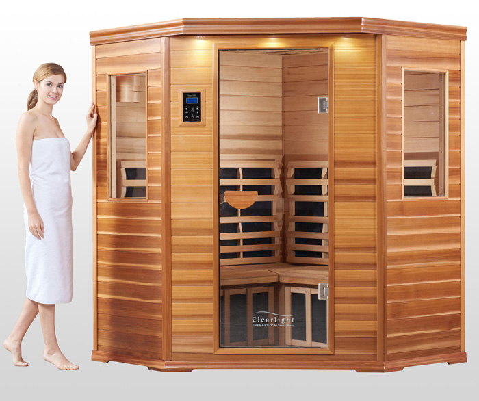 Example low EMF sauna model from Clearlight Saunas